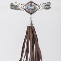 Beaded Tassel Arm Bracelet