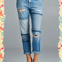 Power Patches Jeans
