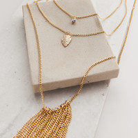 Bow + Arrow Gold Necklace – Dress Up