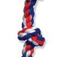 Mammoth Cottonblend 5 Knot Dog Rope Toy