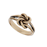 Gold Knot Ring - Jewelry - Bags & Accessories - Topshop USA