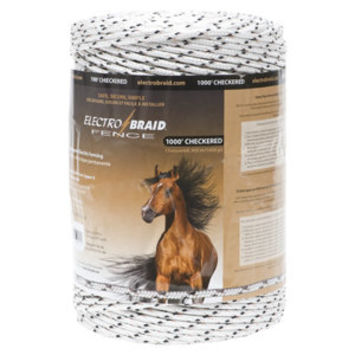 ElectroBraid 1,000 ft. Horse Fence Conductor Reel, Speckled - For Life Out Here