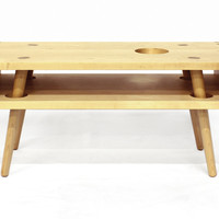 Maple Bedside Table Handmdae by Hugh Miller Furniture | Hugh Miller