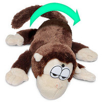 ThinkGeek :: Electronic Rolling Laughing Monkey