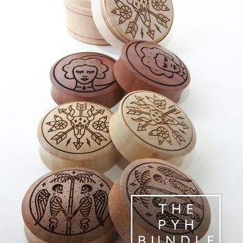 The PYH Bundle Pack [#2] - 2017 Engraved Plugs