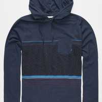 Billabong Spinner Mens Lightweight Hoodie Indigo  In Sizes
