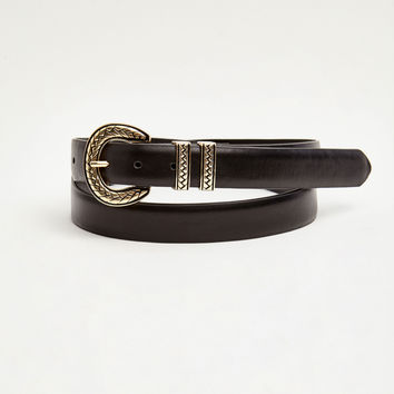 Belt with plaited buckle - Belts - Accessories - Woman - PULL&BEAR United Kingdom