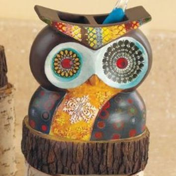 Owl Friend Toothbrush Holder