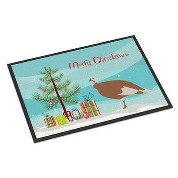 Jersey Buff Turkey Hen Christmas Indoor or Outdoor Mat 24x36 BB9351JMAT