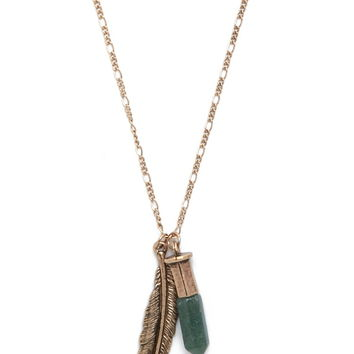 Longline Feather Necklace
