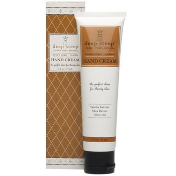 Deep Steep Hand Cream - Brown Sugar Vanilla - 2 Oz