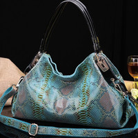 Luxurious Graceful Genuine Leather Shoulder Bag