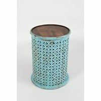 Global Archive Drum Table | Overstock.com Shopping - The Best Deals on Coffee, Sofa & End Tables