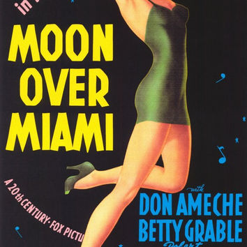 Moon Over Miami 11x17 Movie Poster (1941)