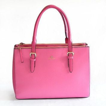 hot kate spade women shopping leather tote handbag shoulder bag 4 colors
