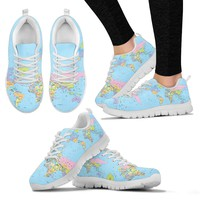 Geography Globe Sneakers