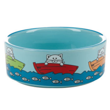 Whisker City® Fishing Cat Bowl | Food & Water Bowls | PetSmart