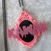 Kawaii Bitch! - Pastel Goth Dripping Kawaii Necklace