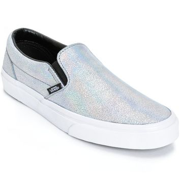 Vans Classic Iridescent Slip-On Shoes