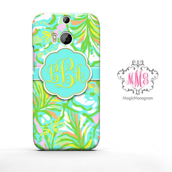 Elephant Ears Lilly Pulitzer HTC Case M9, M8 Case