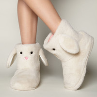 Bunny Booties - Oatmeal | Boux Avenue