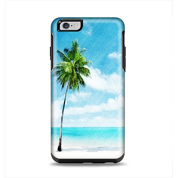 The Paradise Beach Palm Tree Apple iPhone 6 Plus Otterbox Symmetry Case Skin Set