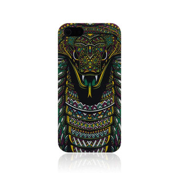 Snake Raccoon Panda Luminous Light Up Case Cover for iPhone 5s / iPhone 6s / iPhone 6s Plus