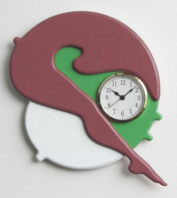 Unique Modern Art Sculpture Wall Clock From Quartetclocks