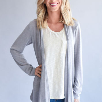 Yellowstone Gray Cardigan