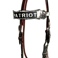 Patriot - Brow Band Headstall by Jaco Brands
