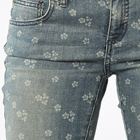 The Printed Ditsy Cropped Jeans