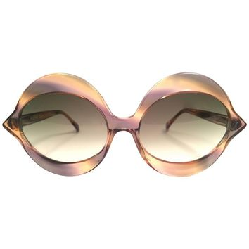 Pierre Cardin Vintage Kiss Multicolour Medium C18 Sunglasses, 1960s