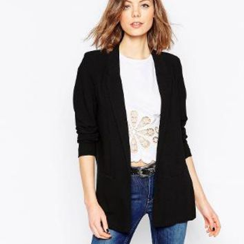 Only | Only Longline Tailored Blazer at ASOS