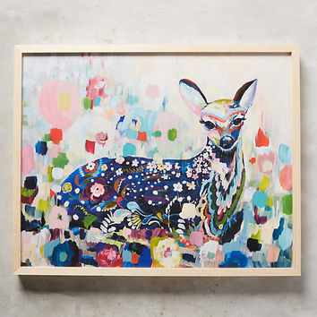 Meadow Fawn Wall Art