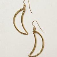Crescent Earrings by Made Gold One Size Earrings