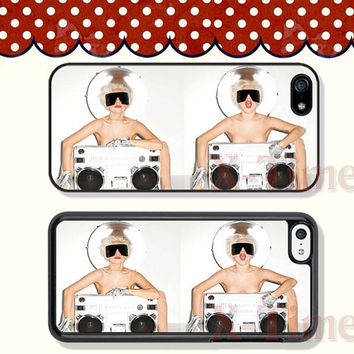 Lady GaGa, iPhone 5 case iPhone 5c case iPhone 5s case iPhone 4 case iPhone 4s case, Samsung Galaxy S3 \S4 Case --X51149