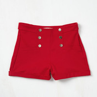 Play Gulf Shorts in Red