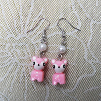Cute Sika,Sika earrings,Personalized gifts, gift of friendship