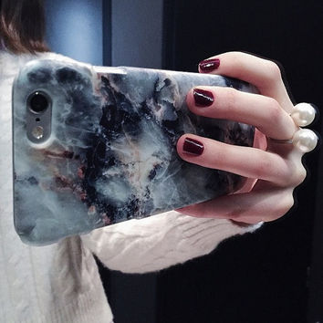 IPHONE 6 MARBLE, iPhone 6 case, marble, blue marble, 6