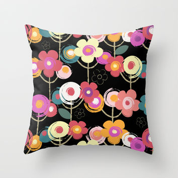 Welcome to my garden Throw Pillow by Juliagrifol Designs   Society6
