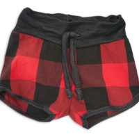 Cozy Lumberjack Shorties