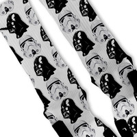 Star Wars Fast Shipping!! Nike Elite Socks Customized Dark Side