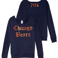 Chicago Bears Slouchy Crew - PINK - Victoria's Secret
