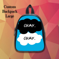 The Fault In Our Stars Hard 1 Custom Backpack Large
