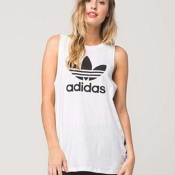 ADIDAS Loose Womens Muscle Tank | Graphic Tees