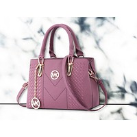 MK Tide brand women's simple and stylish wild Messenger shoulder bag Purple