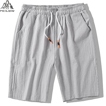 Summer Men Beach Shorts Quick Drying Breathable Trouser Casual cotton Shorts Outwear male clothing