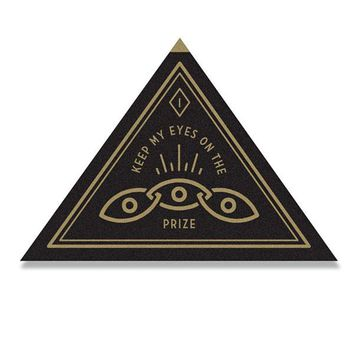 Eyes On The Prize Felt Patch