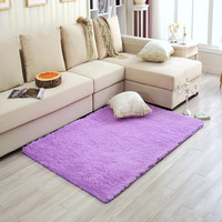 Long Plush Shaggy Warm Soft Carpet Area Rug Slip Resistant Door Floor Mat Pad Blacket For Bedroom Living Room Home Decoration