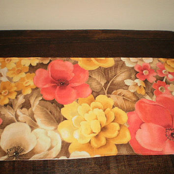 Mini Runner Spring Floral Accent Home Decor Accessory Keyboard  Microwave Cover Bathroom Tank Topper Kitchen Counter Top